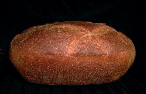 Fluweelzacht bonenbrood uit de romertopf 2