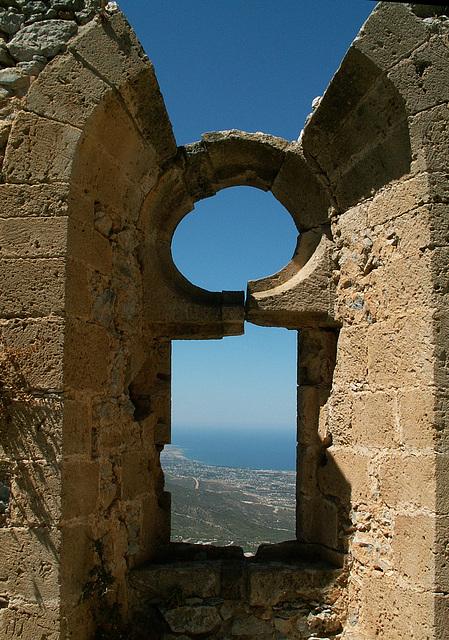 Blick von St. Hilarion