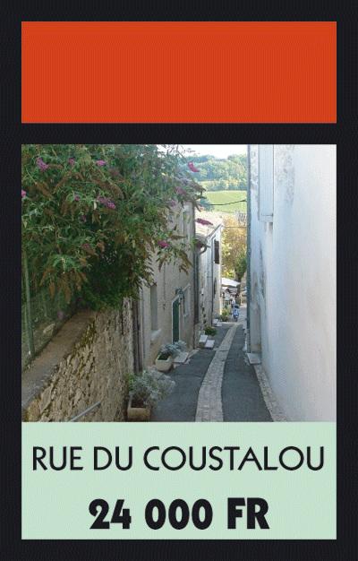 Rue du Coustalou