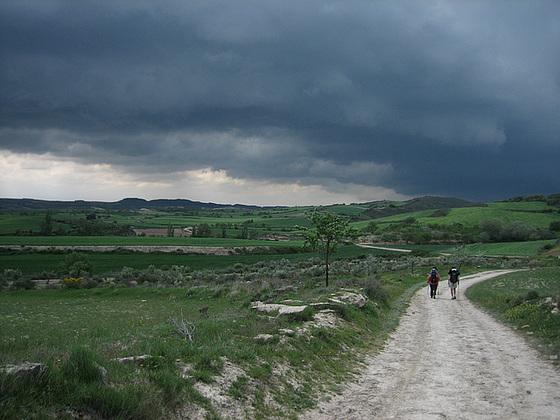 Espagne: Chemin de Compostelle
