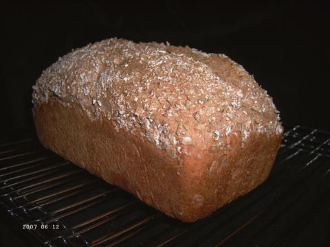 Hearty Five-Grain Bread 1