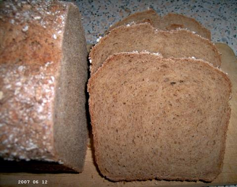Hearty Five-Grain Bread