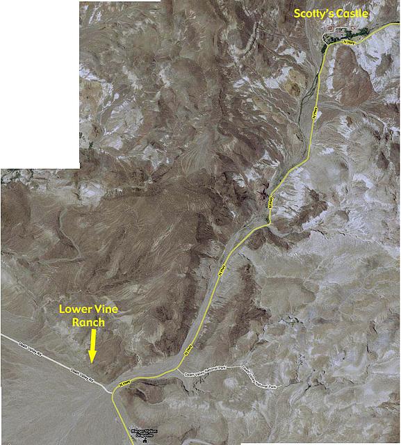 Lower Vine Ranch map