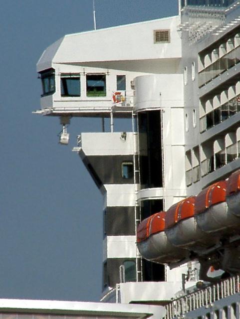 Queen Mary 2 - Brücke