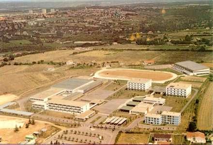 Vue aérienne 1974