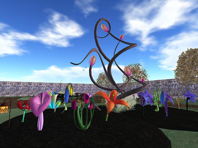windlight viewer: willow tea rooms - garden