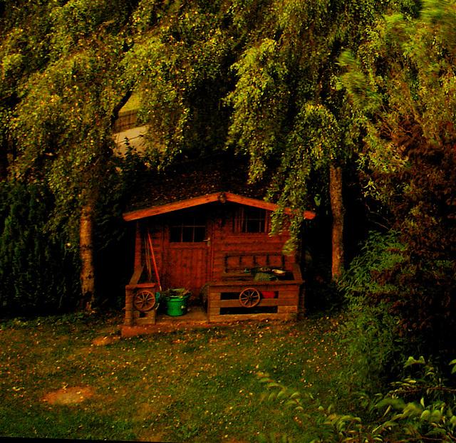 Our small garden house
