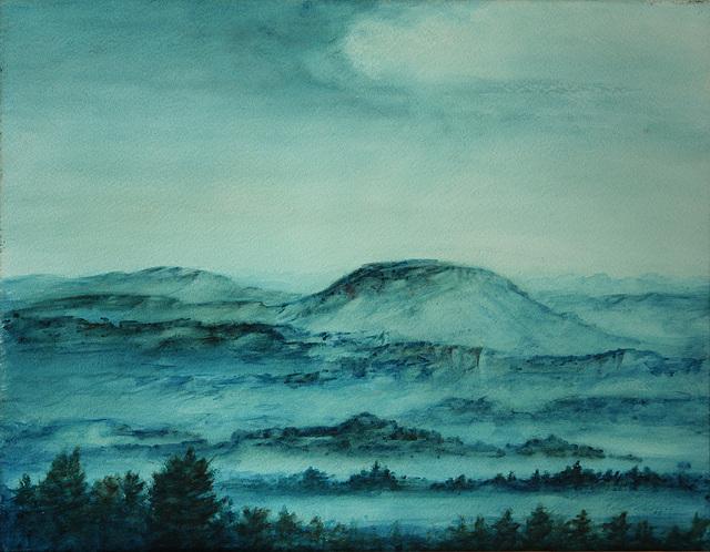 Adolf Schleicher (1887-1982) - Landschaft