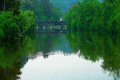 Loisach River at Wolfratshausen 2