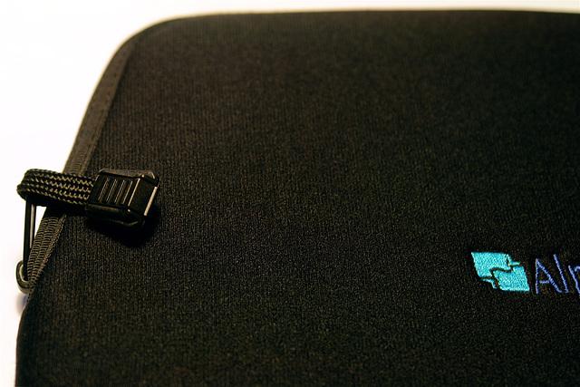 AlphaSmart Neoprene Sleeve (Detail)