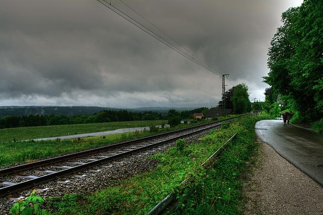 Icking - Blick von der Irschenhauser Straße (2)
