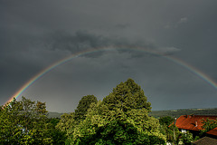 Rainbow Over Isar Valley