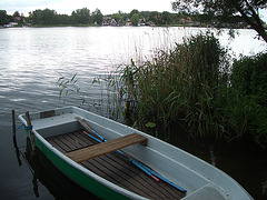 der Abend kommt bald in Mirow  an der Müritz - Deutschland zweitgrößtem See