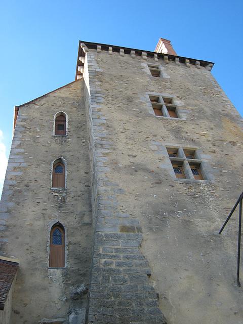 Château de Blandy - La tour carrée