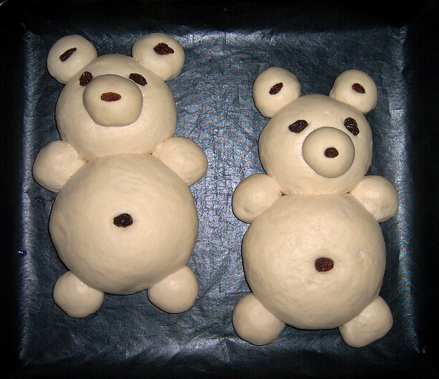 Teddy Bear Bread 1