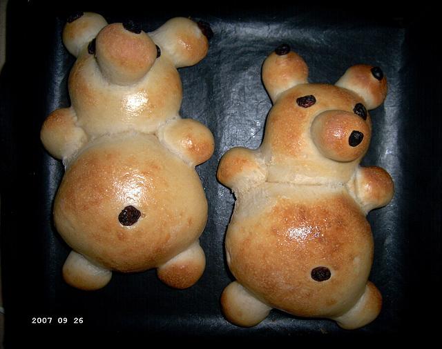 Teddy Bear Bread 2