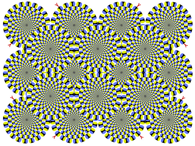 Nice optical illusion