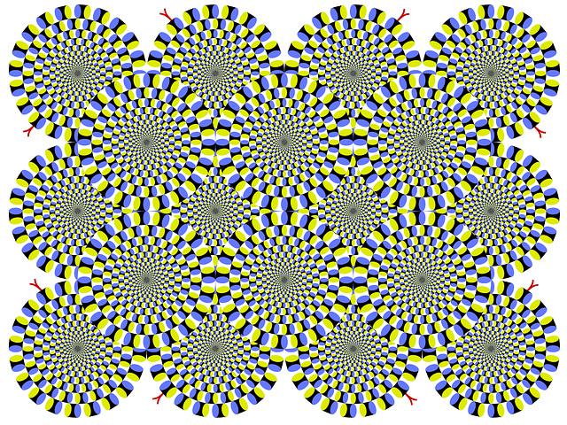 Nice optical illusion