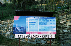 Castle Sign, Rozmbersky Hrad, Rozmberk, Bohemia(CZ), 2007