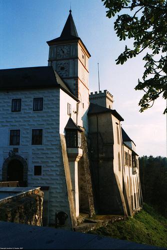 Rozmbersky Hrad, Rozmberk, Bohemia(CZ), 2007