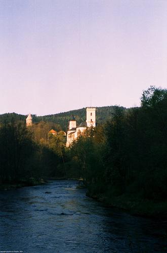 Rozmbersky Hrad, Picture 2, Rozmberk, Bohemia(CZ), 2007