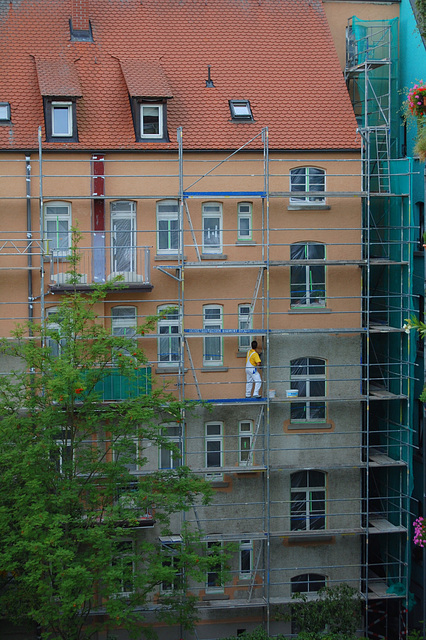 Neu-Ulm Innenhofmalerarbeiten