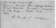 FC St. Pauli 1912-13 - the names