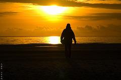 Sundown on Amrum 5