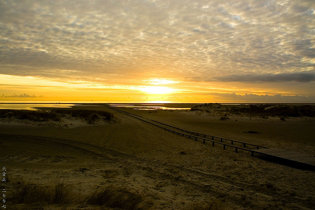 Sundown on Amrum 1