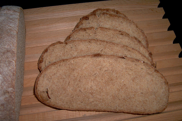 Honey Whole Wheat Bread 2