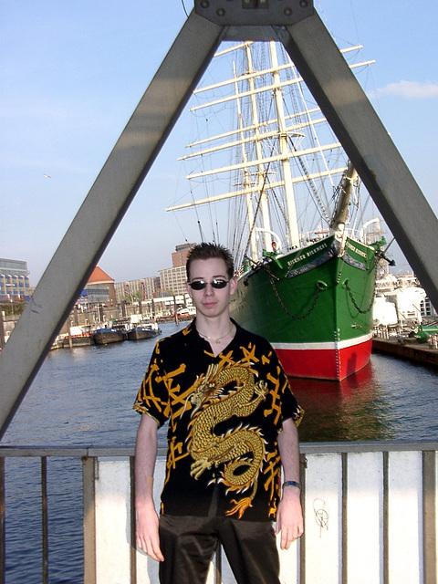Dreiecksschiffsjunge