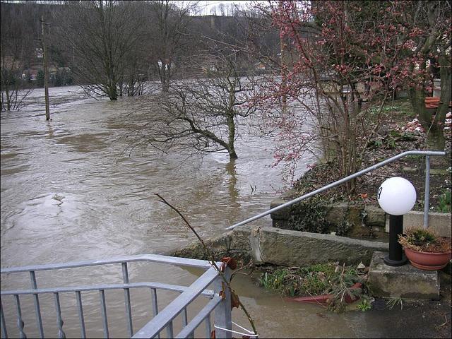 Mein Haus - Hochwasser April 2006