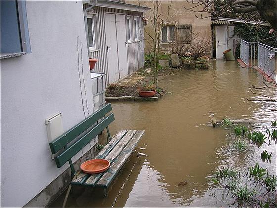 Höchststand - Hochwasser 2006