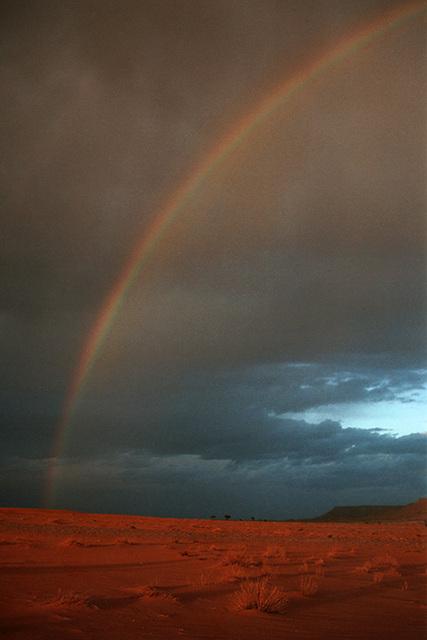 Sahara-Regenbogen