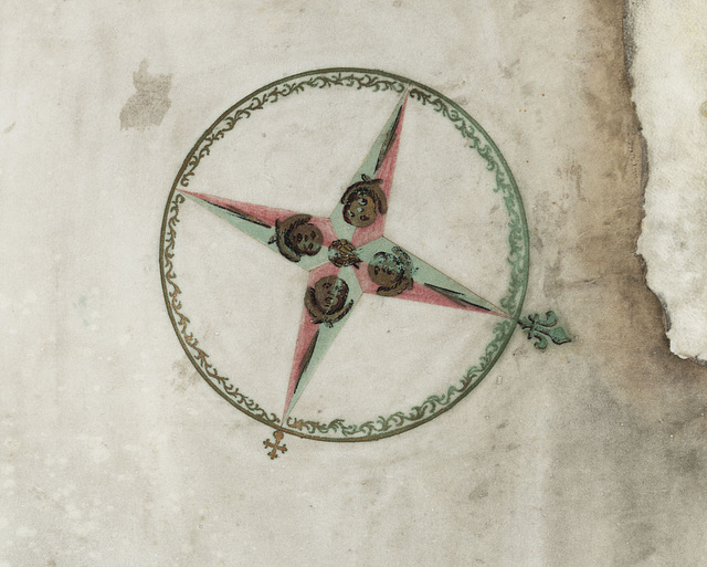 C18th Compass Rose