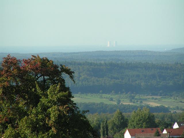 Schwarzwald: Blick bis Phillipsburg