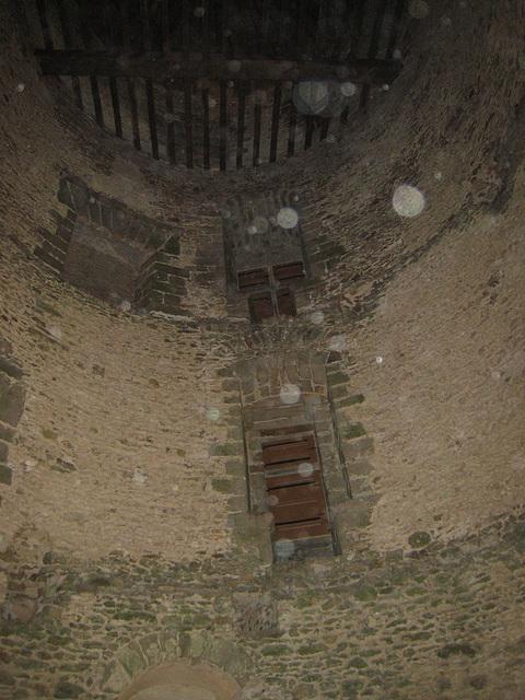 Château de Blandy - La tour des gardes