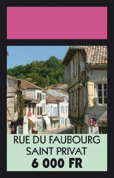 Rue du Faubourg Saint Privat