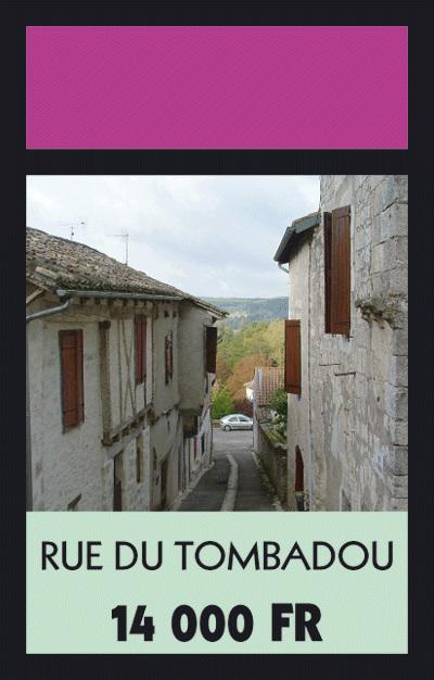 Rue du Tombadou