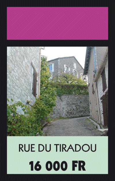 Rue du Tiradou