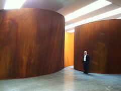 Richard Serra exhibit