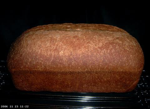 Buttermilk Whole Wheat Bread 1