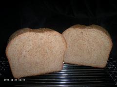 Buttermilk Whole Wheat Bread 2