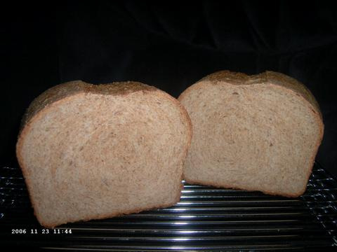 Buttermilk Whole Wheat Bread 2