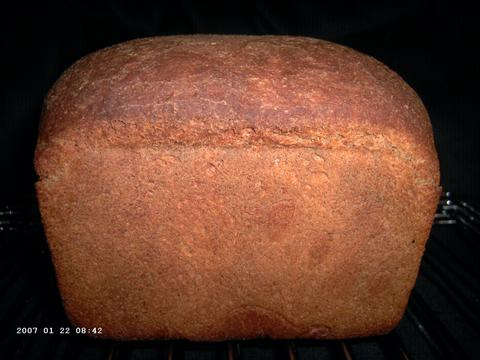 Polenta-Chestnut Bread 1