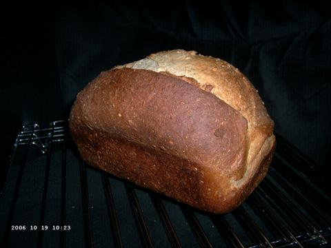 Three-Seed Whole Wheat Bread 1