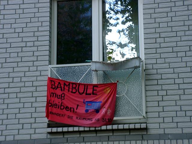 Bambule muß bleiben!