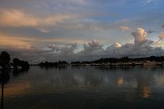 The river Zaan, Oostknollendam