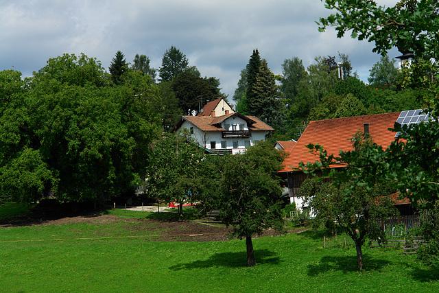 View of Icking from the Hauserweg #1