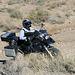 Motorcyclist Climbing Mengel Pass (9707)